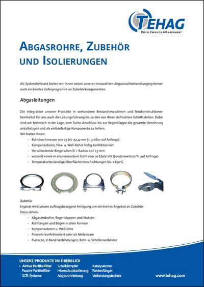 TEHAG / Zubehör und Leitungen