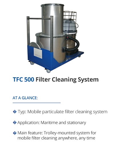 Filter Cleaning System from TEHAG