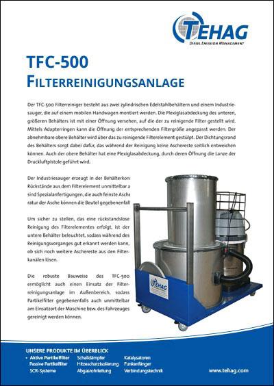 TEHAG / TFC-Filterreinigungsanlage