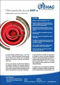 Filtre à particules de suie AWF-e PDF
