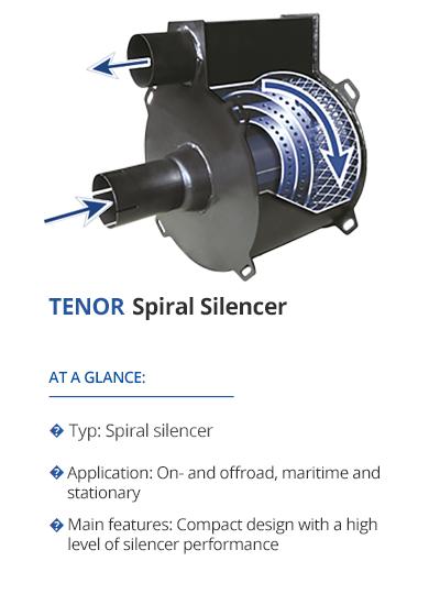 TEHAG TENOR Spiral Silencer