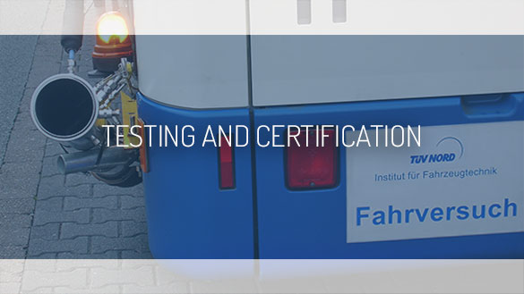 TEHAG / Testing and certification