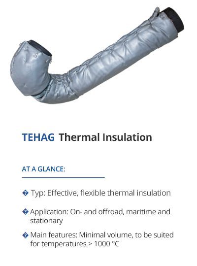 Thermal insulation from TEHAG