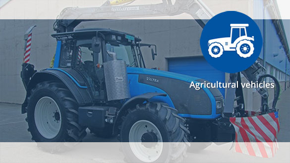 TEHAG Particulate filter and SCR system for agricultural vehicles