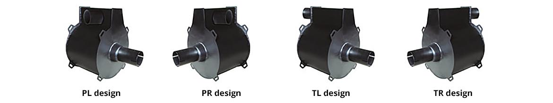 TENOR-Spiralschalldämpfer - Baureihe TSM