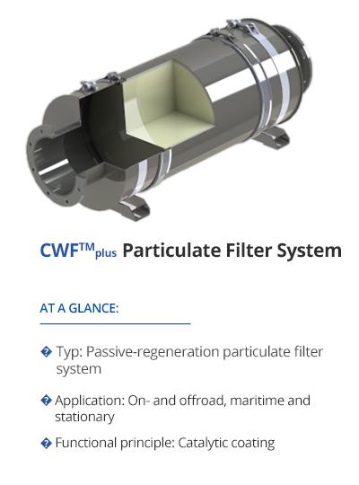 TEHAG CWF-plus Particulate Filter System