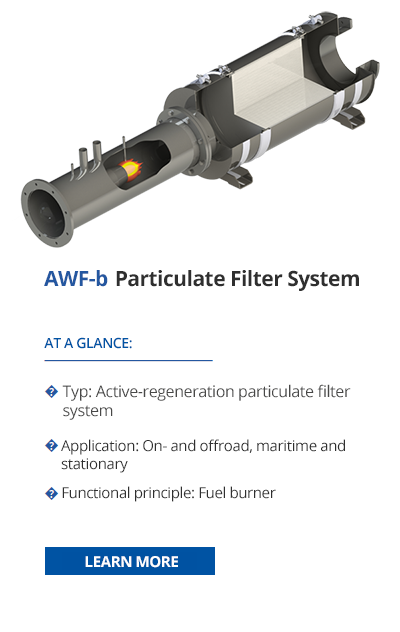 TEHAG AWF-b Particulate filter system