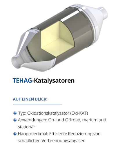 Katalysatoren von TEHAG
