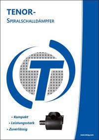 TENOR-Spiralschalldämpfer, 20-seitige Broschüre