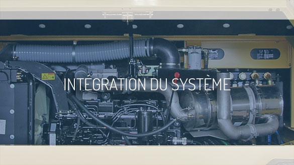 Integration du système.