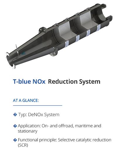 TEHAG T-blue NOx-Reduction (SCR-System)