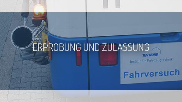 TEHAG / Erprobung und Zulassung