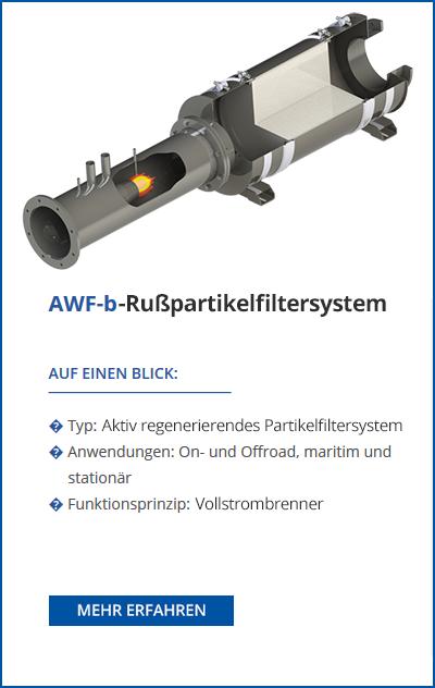 TEHAG / AWF-b Dieselpartikelfilter