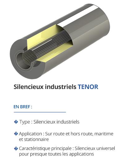 TEHAG TENOR : Silencieux industriels