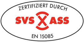 Certification SVS EN 15085