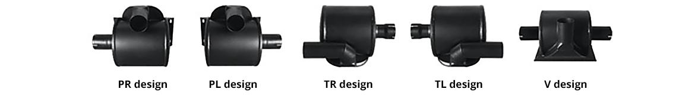 TENOR-Spiralschalldämpfer - Baureihe TSE