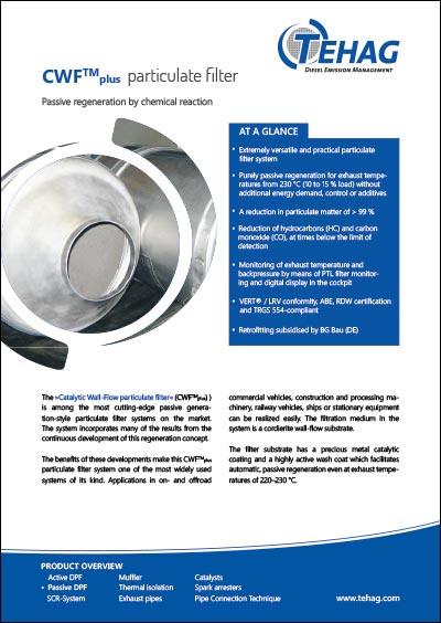 TEHAG / CWF plus Diesel Particle Filter