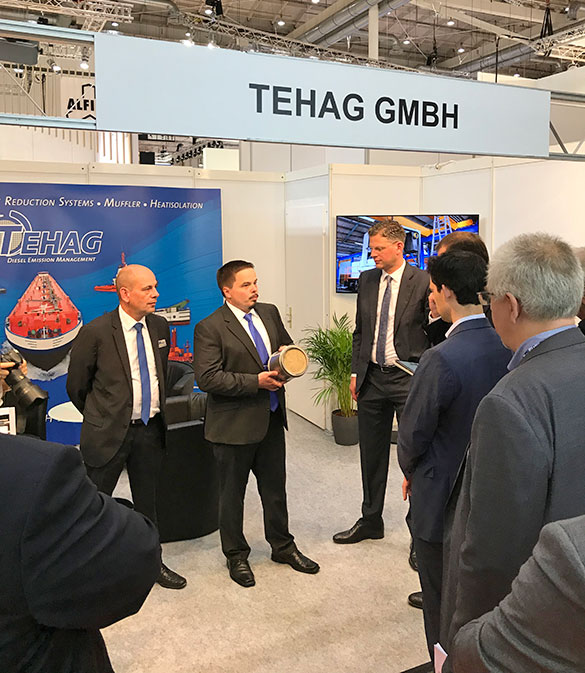 CDU working grpup as visitors at the TEHAG booth
