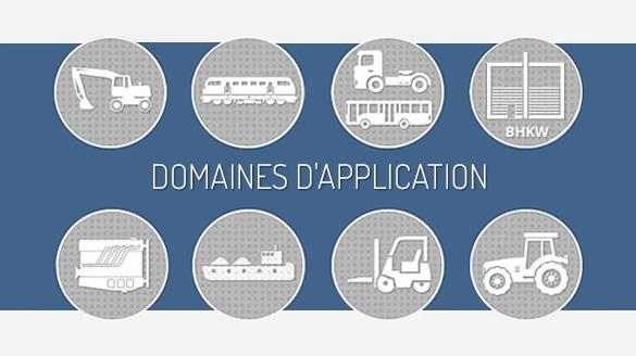 TEHAG - Domaines d'application des systèmes de post-traitement des gaz d'échappement