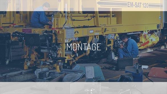 Montage : post-traitement des gaz d'échappement