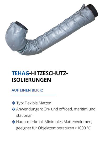 Hitzeschutzisolierungen von TEHAG