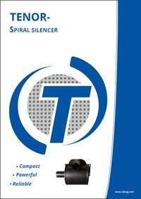 TENOR Spiral silencer, brochure, 20 pages