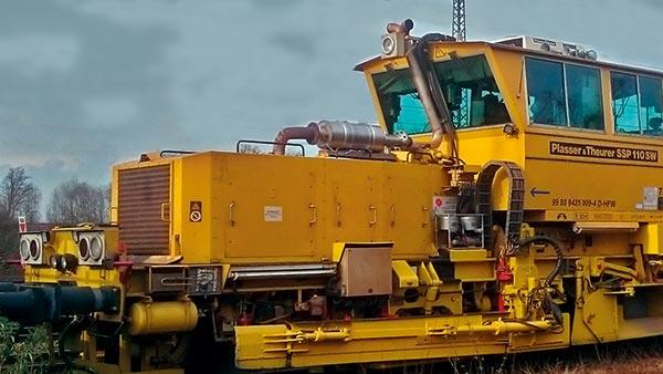 TEHAG / Rußpartikel- und SCR-Filter für Gleisfahrzeuge - Referenz 2