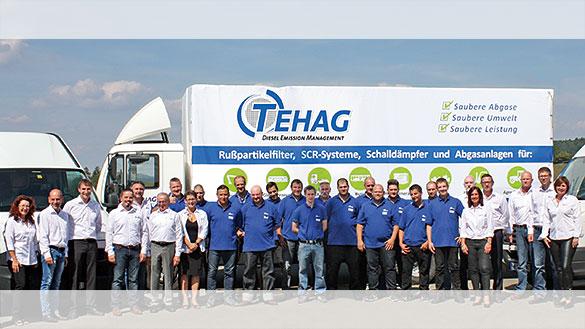 Das TEHAG-Spezialistenteam für Abgasnachbehandlung