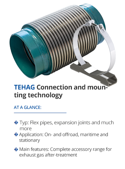 TEHAG Connection and mounting technology from TEHAG