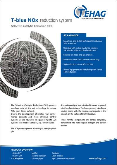 PDF T-blue NOx Data Sheet