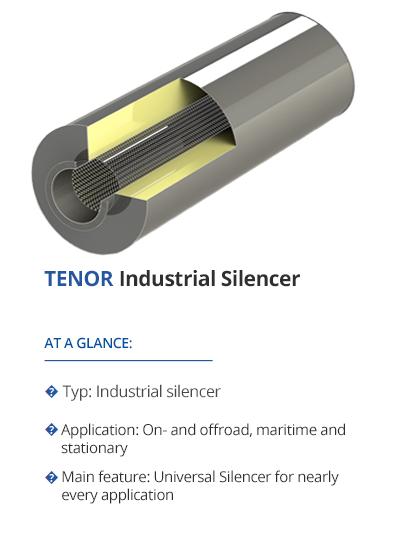 TENOR Industrial Silencer from TEHAG